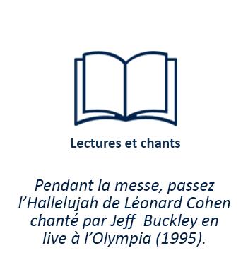 Pendant la messe, passez l'Hallelujah de Léonard Cohen chanté par Jeff Buckley en live à l'Olympia (1995)